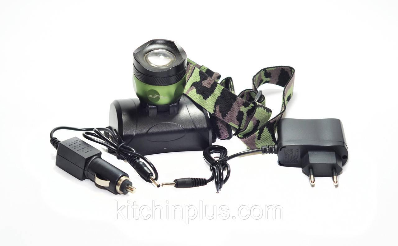 Ліхтарик налобний BL-6966-T6 Bailong
