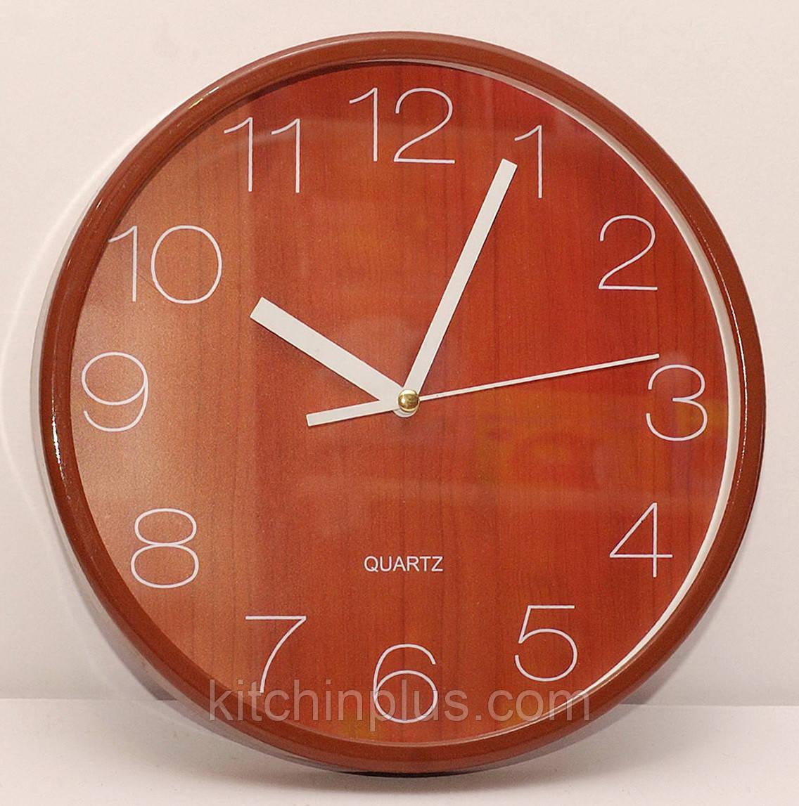 Часы настенные круглые 29.5 см