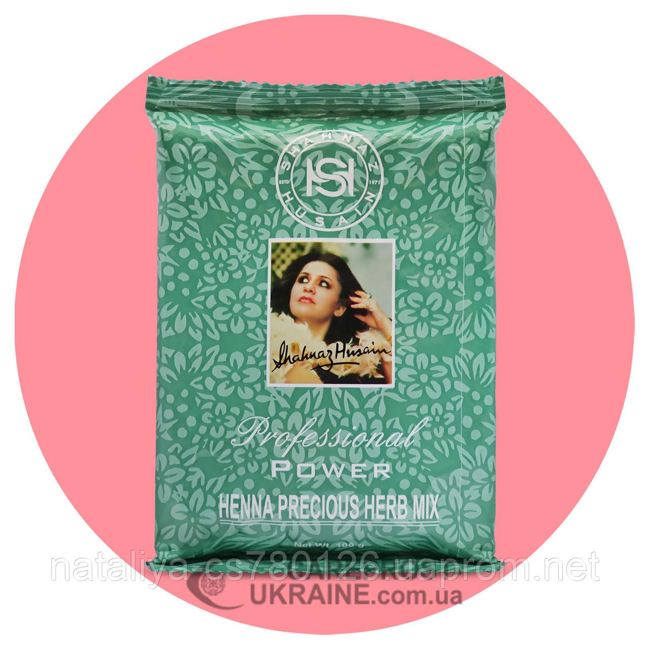Хна для волос Шахназ Хусейн (Henna Precious Herb Mix Shahnaz Husain), в упаковке 100 г
