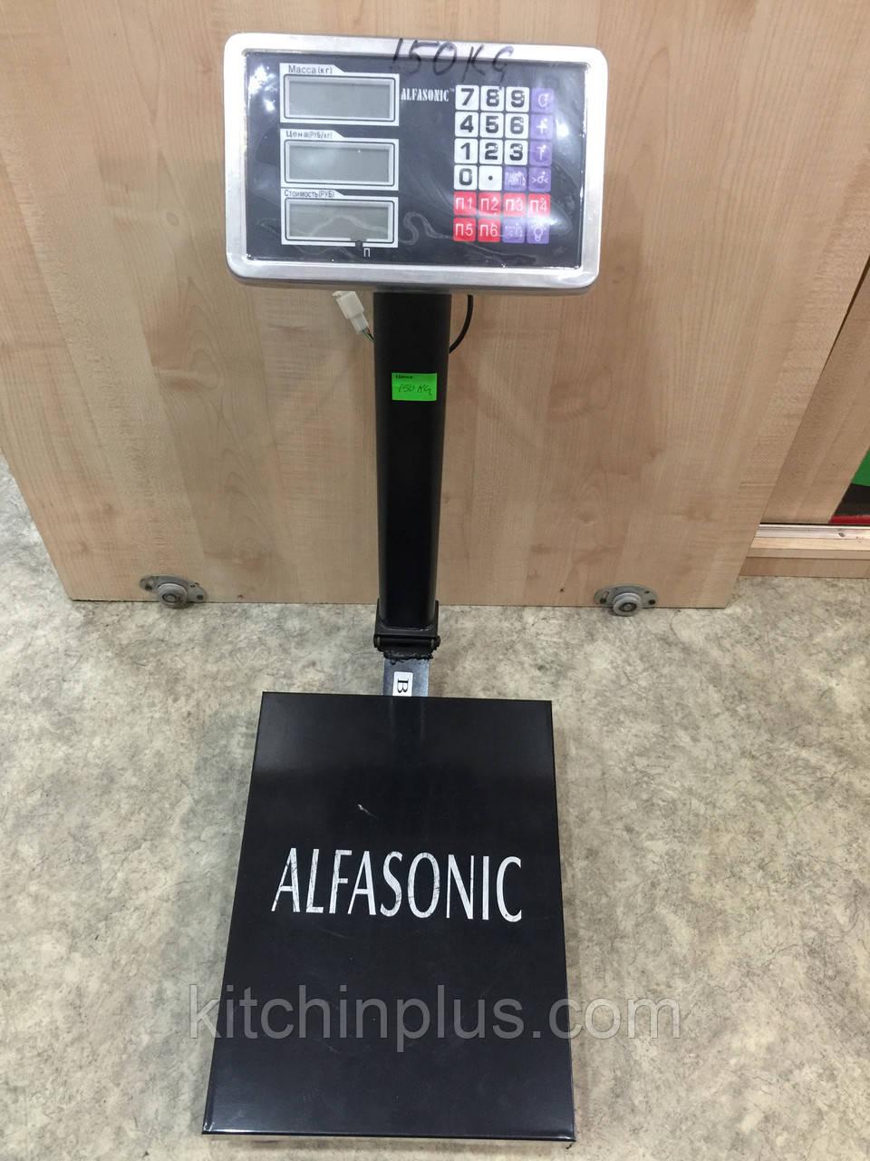 Весы торговые Alfasonic 150kg