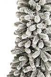 Президентская Ель конусная 1,8 м заснеженная премиум, фото 3