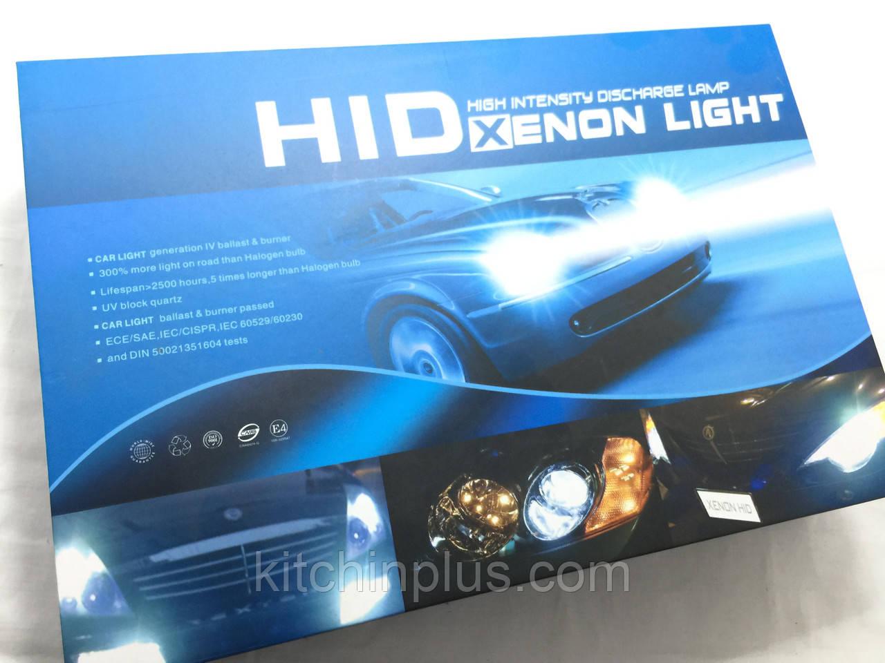 Ксеноновые лампы HID XENON LIGHT H4 4-3 4300K