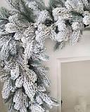Литая Коваливская гирлянда в снегу 2,5 м, фото 3