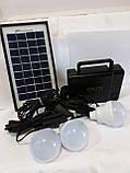 Портативное зарядное устройство на солнечной батарее GD-8006A, фото 2