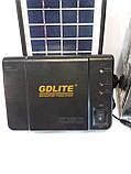 Портативное зарядное устройство на солнечной батарее GD-8006A, фото 3