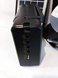 Портативное зарядное устройство на солнечной батарее GD-8006A, фото 4