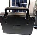Портативное зарядное устройство на солнечной батарее GD-8006A, фото 6