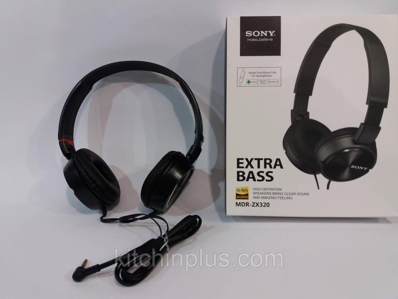 Наушники Sony Extra Bass MBR-ZX320