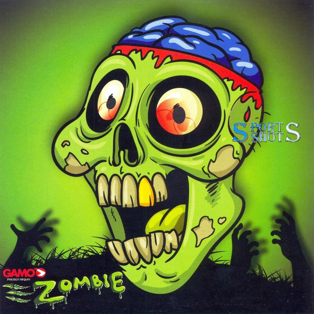 Мішень картонна Gamo Zombie №1 1шт для пневматичної зброї