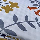 Постельное белья Двуспальное с простыню на резинке 160х200+20см | Комплект постельного белья Фланель на резине, фото 2