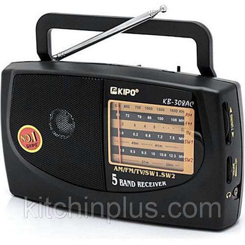 Радиоприемник портативный Kipo  KB-308AC