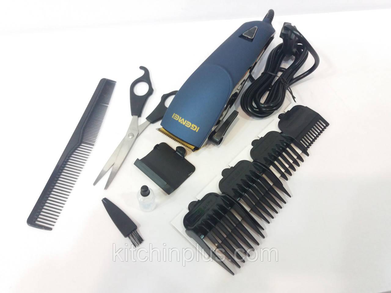 Машинка-триммер для стрижки волос  IGEMEI GM812