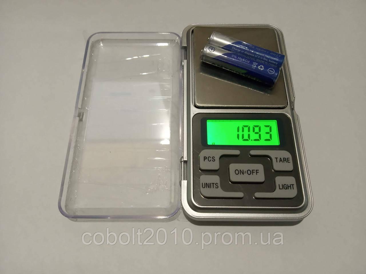 Ювелирные, Карманные весы 240 g (0,01 g)