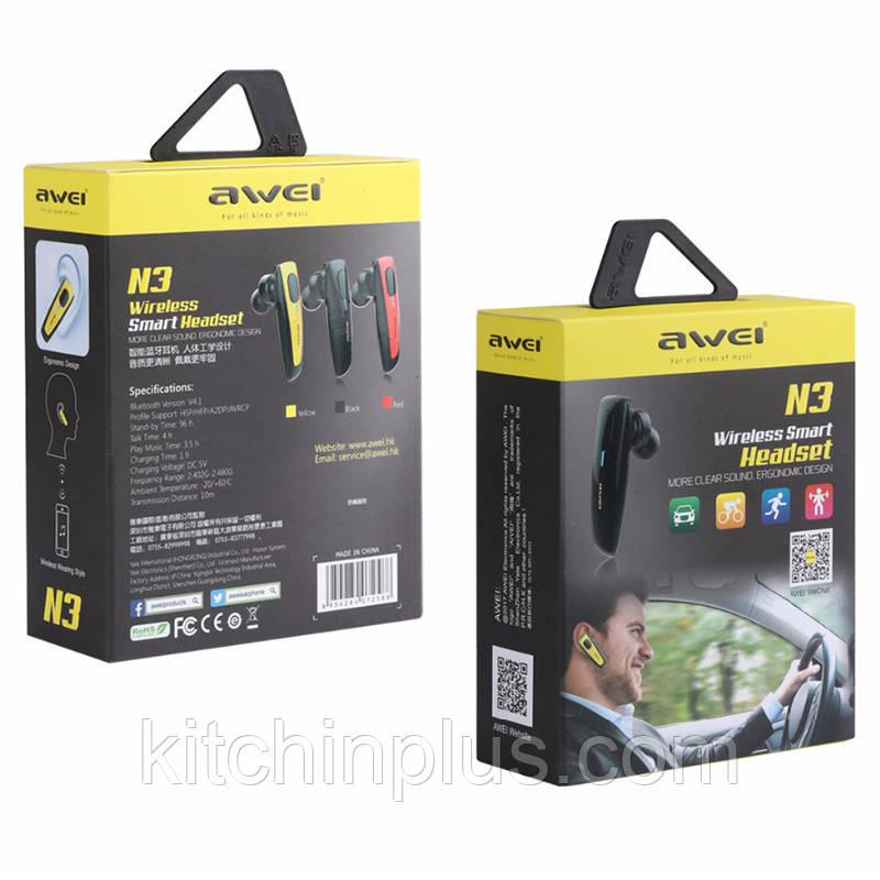 Bluetooth гарнитура Awei N3