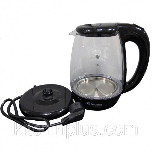 Чайник электрический стеклянный  DOMOTEC MS-99
