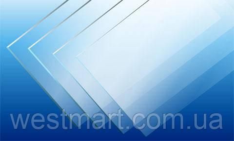 Листовой ПЭТ NUDEC прозрачный 1,0 мм 1250х2050мм