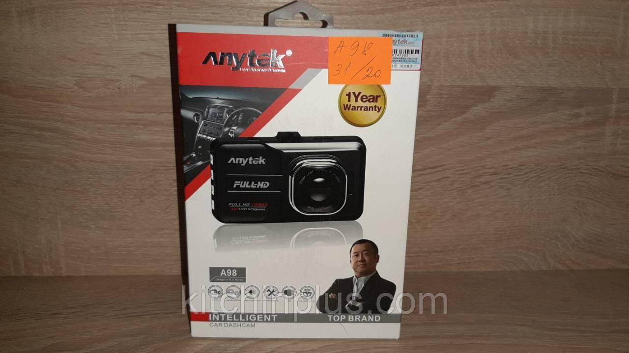 Автомобильный видеорегистратор Anytek A98