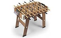 Футбольний стіл дерев'яний розкладний Smoby Toys Click & Goal (620700)