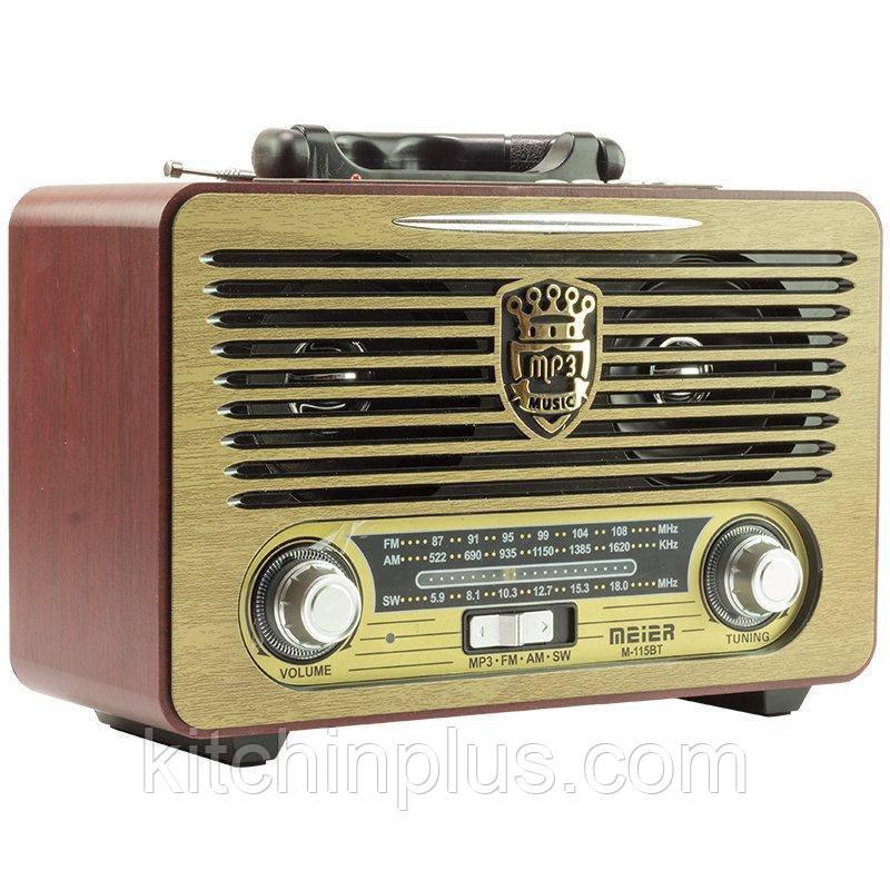 Радіоприймач Meier M-115BT