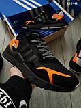 Adidas Nite Jogger (черные) cas, фото 3