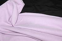 Ткань джерси , цвет светло лиловый, стрейч, теплая. плотная (плотность 280 гр/см), фото 1