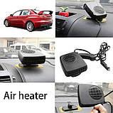 Обогреватель-вентилятор автомобильного салона 12V Auto Heater Fan, фото 4