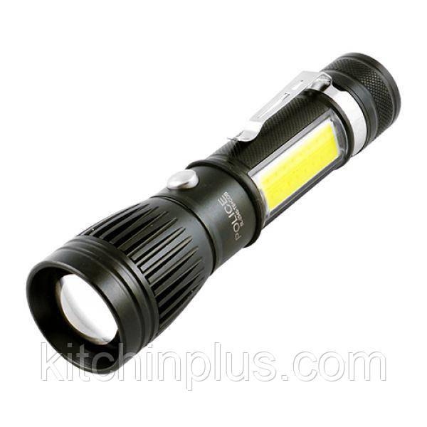Тактичний ліхтарик Police W545 - T6 Акумуляторний