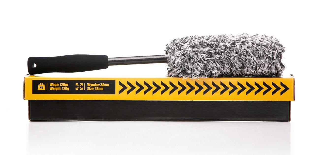 Деликатная щетка для эффективной и безопасной мойки колёсных дисков