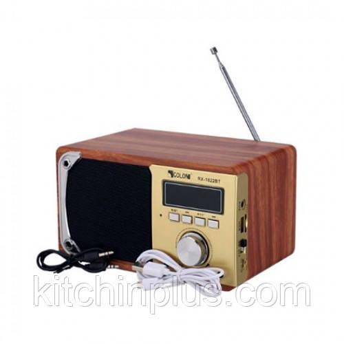 Радио колонка портативная музыкальная RX-1822BT Gold Golon
