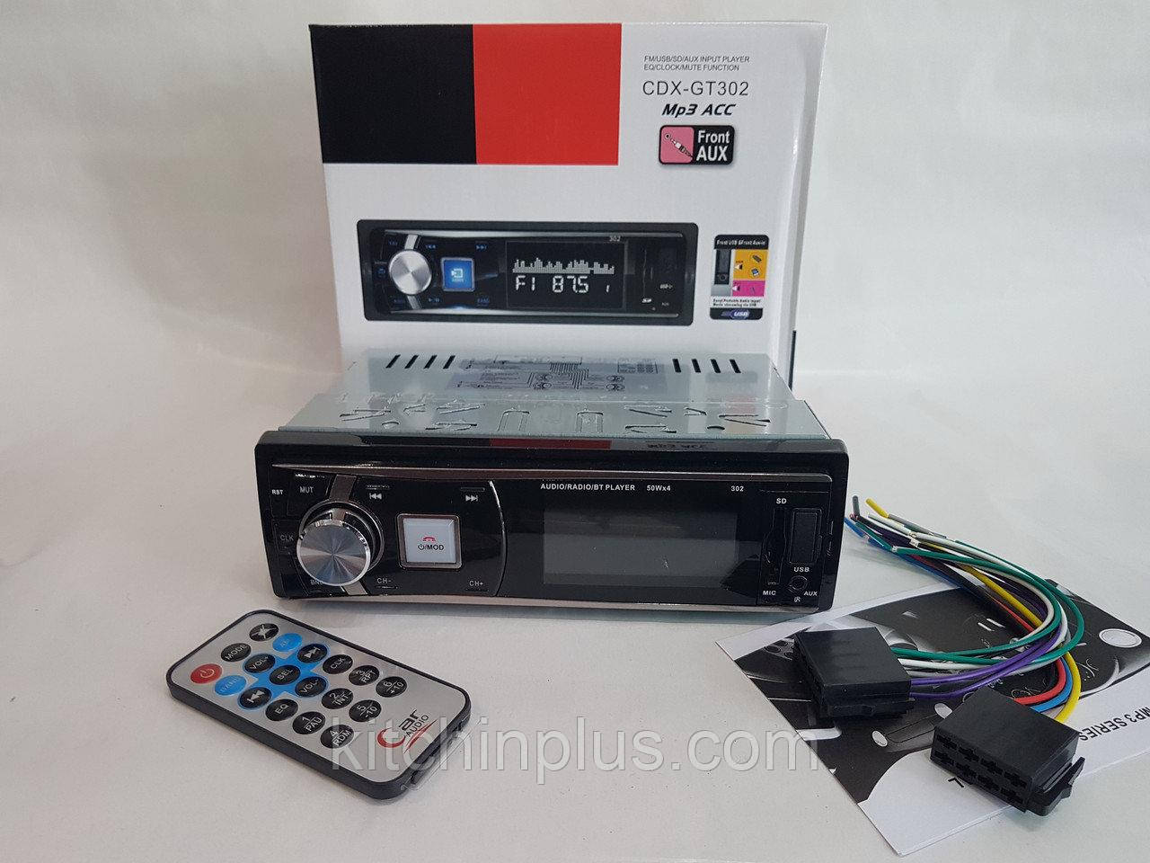 Автомагнитола CDX-GT 302 (USB/FM/AUX/Bluetooth/1 din)в стиле Sony