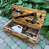 Наборы шампуров в коробке