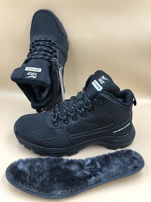 """Зимние мужские ботинки """"YIKE KEEP WARM"""" - мех, фото 2"""