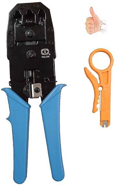Обжимка для кабеля (Клещи для обжима TL-315 8P6P4P (crimping tool))