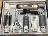 Фен-щетка для волос 7 в 1 Gemei GM-4836 1200W, фото 4