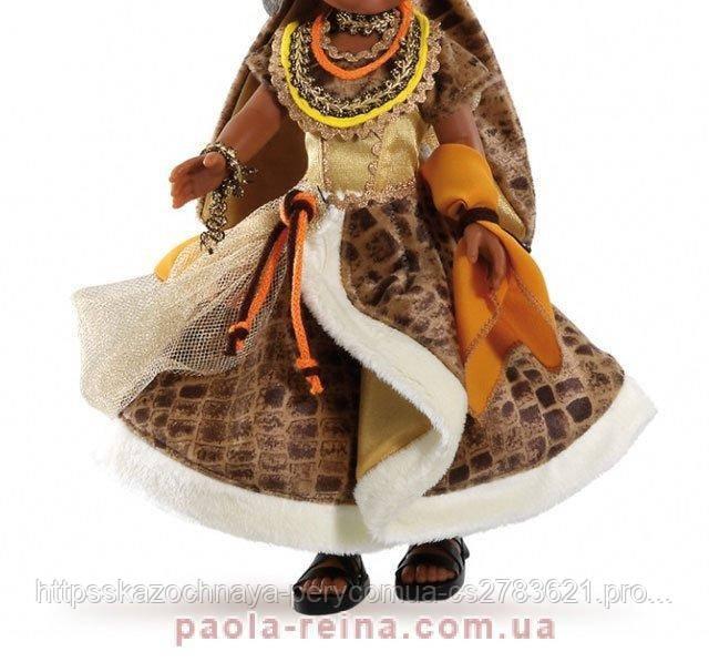 Комплект одежда и обувь для куклы Нора африканка 74555