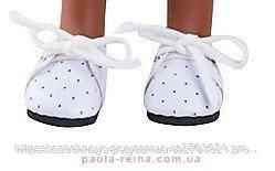 Туфлі білі 32 см Paola Reіna на шнурочках