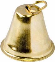 Колокольчики, золото, 15 мм