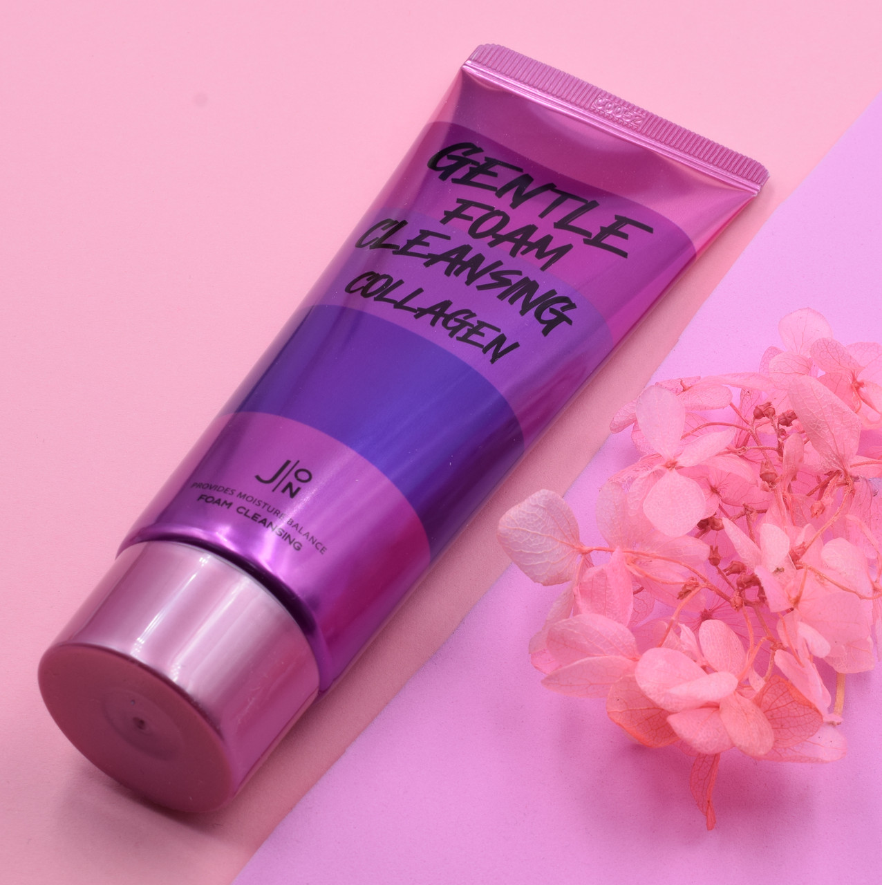 Пенка для умывания J:ON с коллагеном Gentle Foam Cleansing Collagen