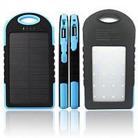 Power Bank 30000 mAh Solar с солнечной батареей (решётка, резиновый) Цвет-Уточняйте