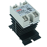 Радиатор для твердотельного реле  10А-40А, фото 3