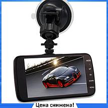"""Автомобильный Видеорегистратор DVR T652 4"""" Full HD 1080p с камерой заднего вида, фото 2"""