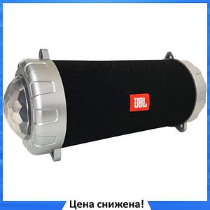 Портативная колонка JBL S07 - мобильная bluetooth колонка cо светомузыкой, FM радио, MP3 плеер (реплика)