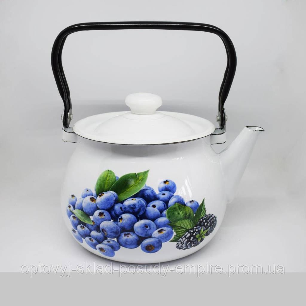 Чайник эмалированный Idilia 2 литра 2710/2