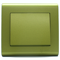 Выключатель одноклавишный Makel Manolya Фисташковый (41104001)