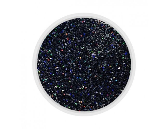 MART Песочек глиттерный Черный голографик (20)