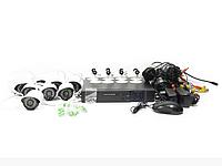 Набор камер видеонаблюдения AHD Security Recording System 8CH | камера наблюдения, фото 1