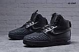 Nike LF1 Duckboot (черные) ЗИМА cas, фото 2