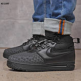 Nike LF1 Duckboot (черные) ЗИМА cas, фото 5