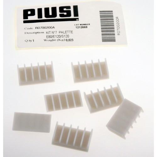 Лопатки насоса PIUSI Е80/Е120 (ремкомплект)