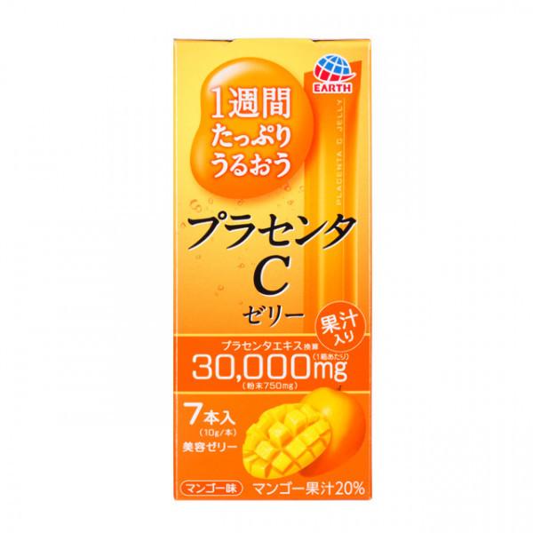 Японская питьевая плацента Earth Placenta C Jelly Mango 70g (на 7 дней)